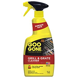 Goo Gone Grill & Grate Cleaner - Cleans Cooking Grates & Racks - 24 Fl. Oz.