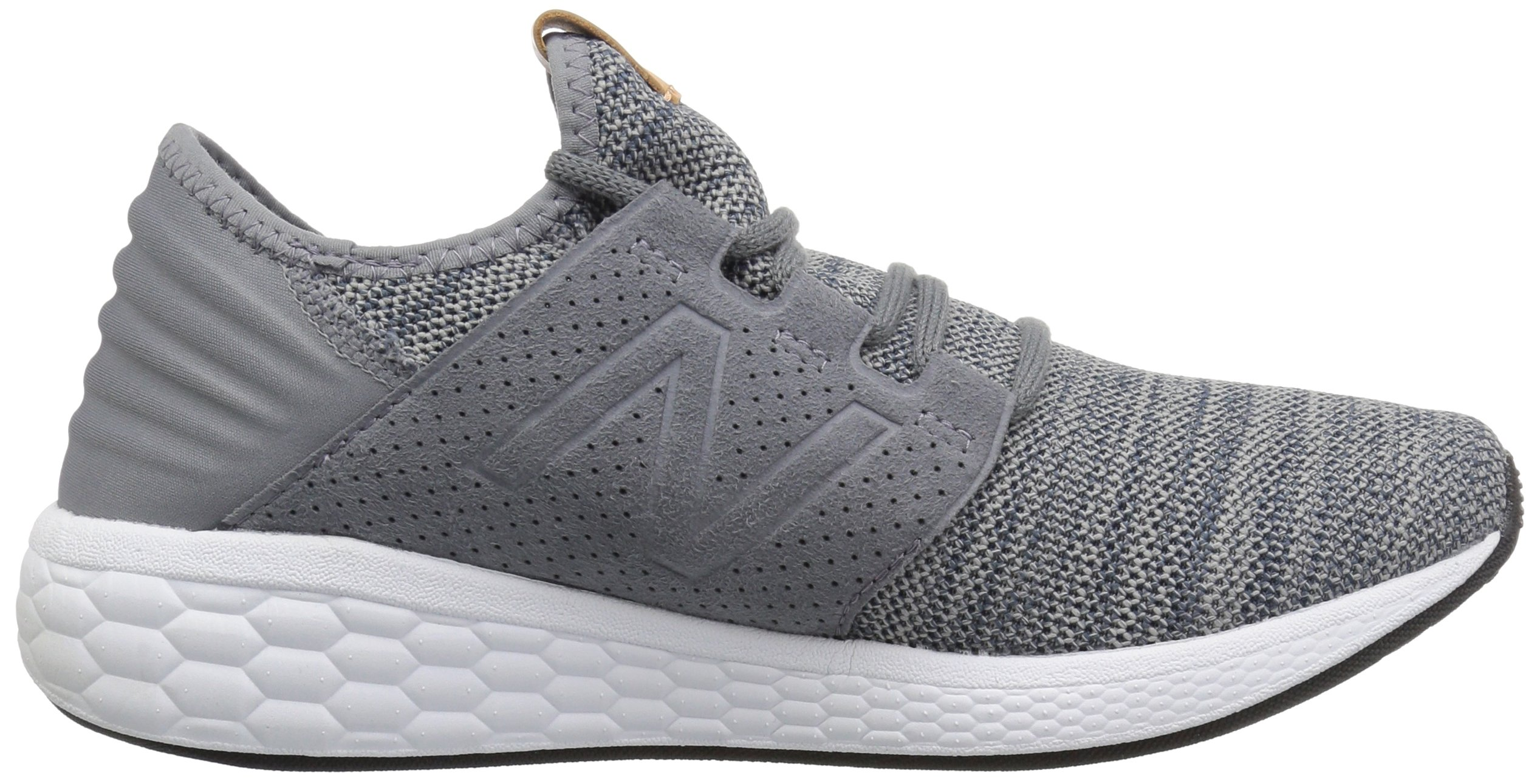 New Balance Men's Cruz V2 Fresh Foam Running Shoe, Gunmetal / Thunder, 7 D US by New Balance (Image #6)