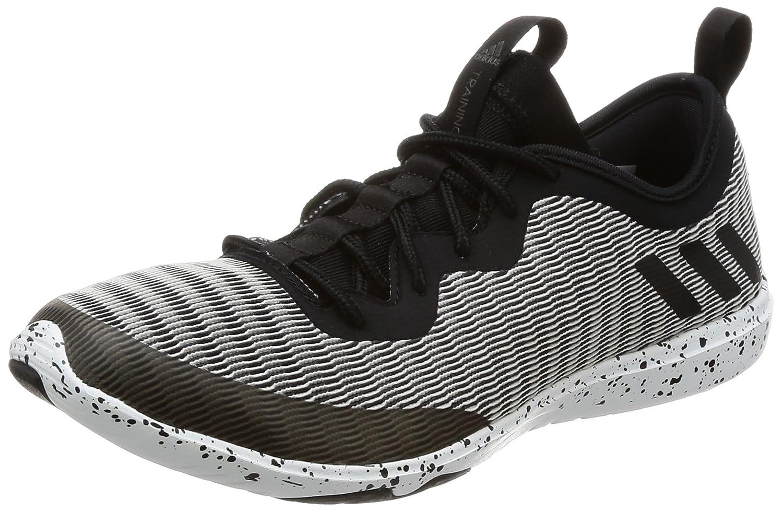 adidas Damen Crazymove Tr Fitnessschuhe, Blau, XL  37 1/3 EU|Black (Negbas / Nocmét / Ftwbla)