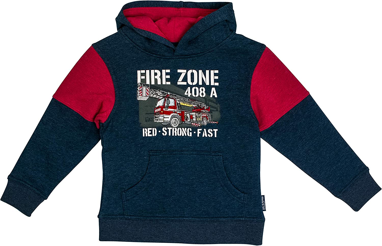 SALT AND PEPPER Jungen Kapuzensweaty Fire Zone Multi Sweatshirt
