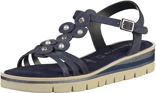 Tamaris 1 28228 30 Femmes Sandale: : Chaussures et Sacs