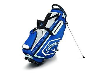 Callaway Chev Bolsa para Palos de Golf, Hombre, Azul/Plata ...