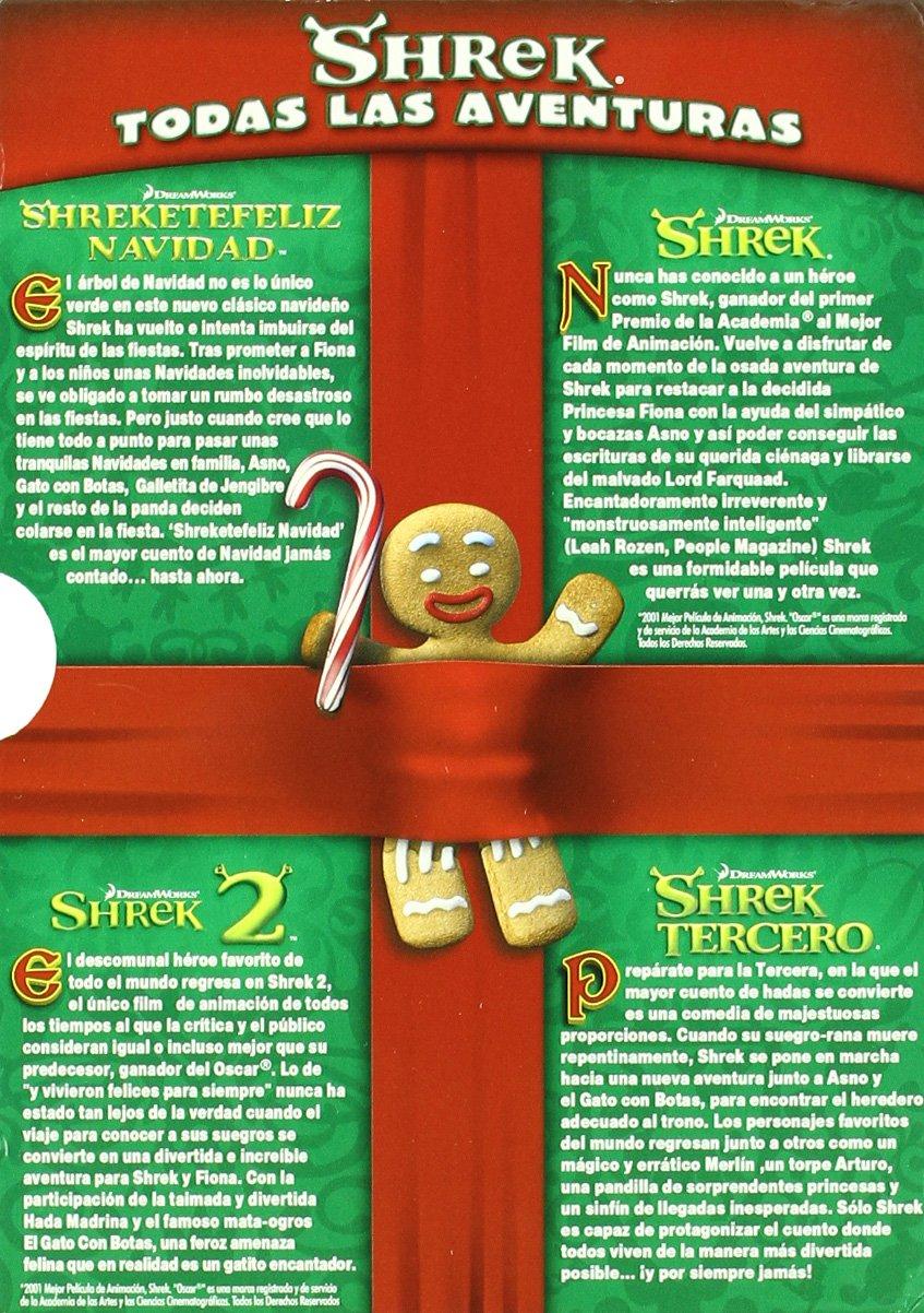 Shreketefeliz navidad+trilogia [DVD]: Amazon.es: Gary Trousdale ...