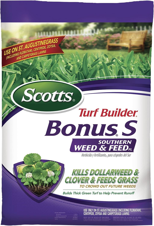 Scotts 21014 Turf Builder Bonus S Southern Weed & Feed FL - Florida Fertilizer, 5,000 sq. ft