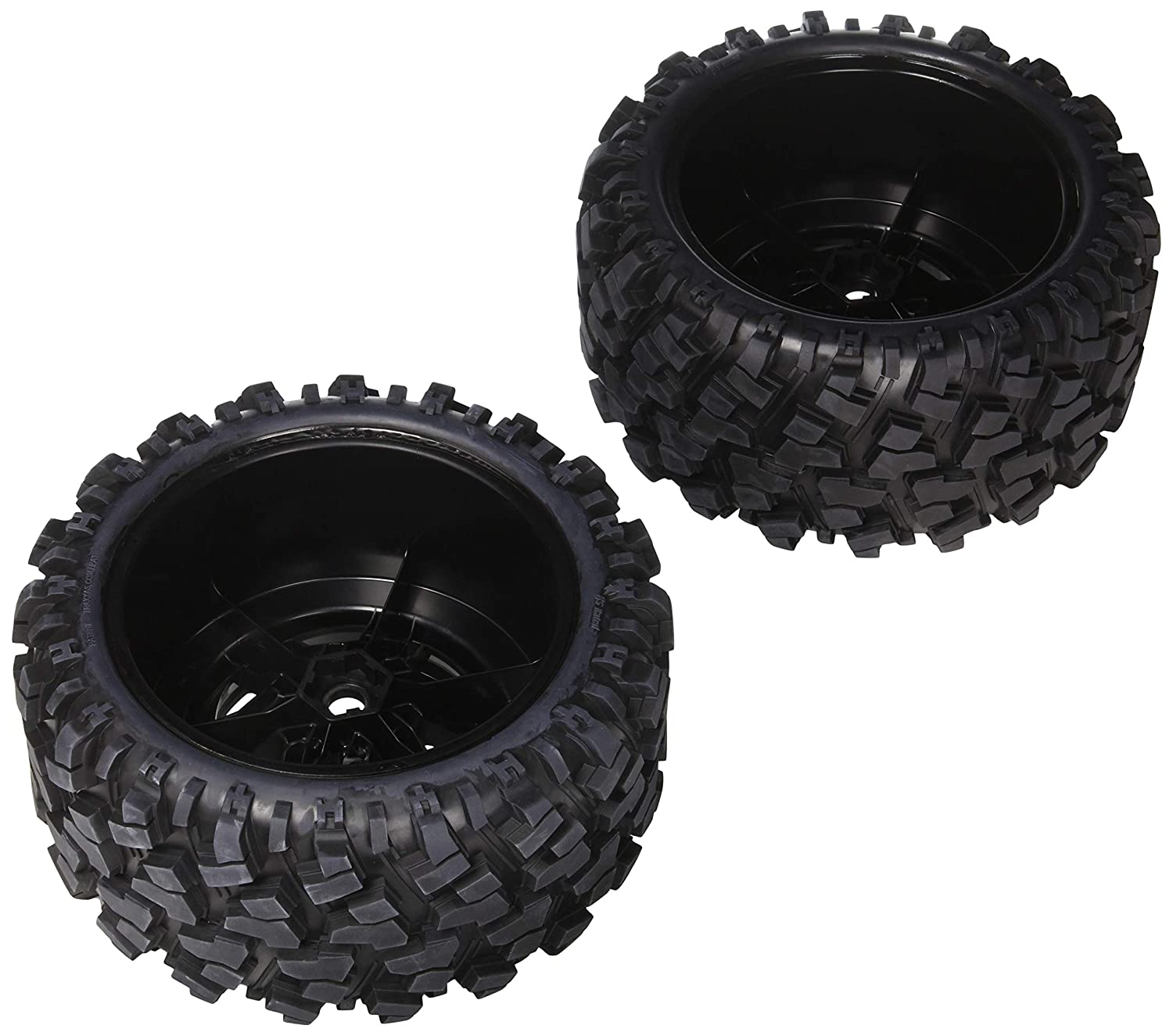 8S-Rated Vehicle Traxxas 7772X Pre-Assembled X-Maxx Wheels /& Tires