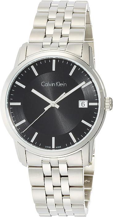 Calvin Klein Reloj Digital para Hombre de Cuarzo con Correa en Acero Inoxidable K5S31141