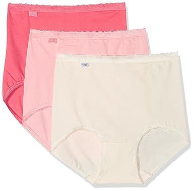 402949ed53f9 Sloggi Women's Basic+ Maxi C3p Full Brief,Pack of 3: Amazon.co.uk: Clothing