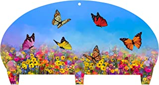 product image for Next Innovations Coat Rack Wall Mounted Butterfly Three Hook Coat Rack
