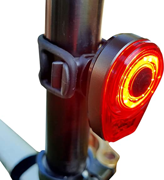 Amazon.com : Bright Eyes Taillight - USB Rechargeable with Extreme Bright COB Technology - 6 Modes (3 Brightness Levels) - No Tools - Install On Bicycle, Helmet, or Clip on Clothing for Safety : Sports & Outdoors