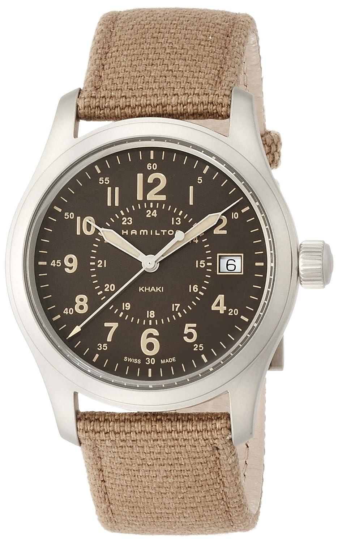 [ハミルトン]HAMILTON 腕時計 カーキフィールドクオーツ 38mm H68201993 メンズ 【正規輸入品】 B01JJ34XHE