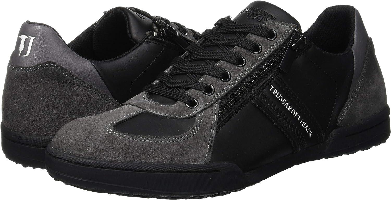 Trussardi Jeans Sneakers Tj Zip Puller,