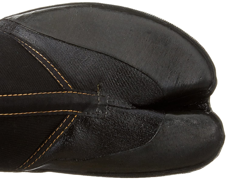 Marugo Schwarz Japanische Tabi Spike-Schuhe Schwarz Marugo mit 8 Clips 80e356