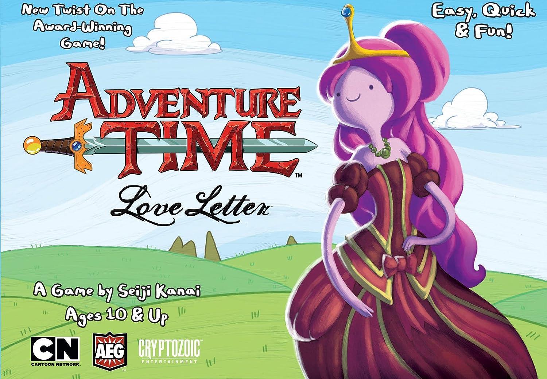 Alderac Entertainment ALD05120 - Brettspiele, Adventure Time Love Letter, Box
