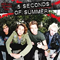 5 Seconds Of Summer 2016 Square 12x12 Wall Calendar