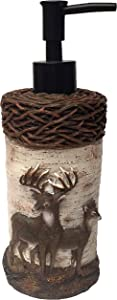 Laural Home Deer Time Soap Dispenser, Multi
