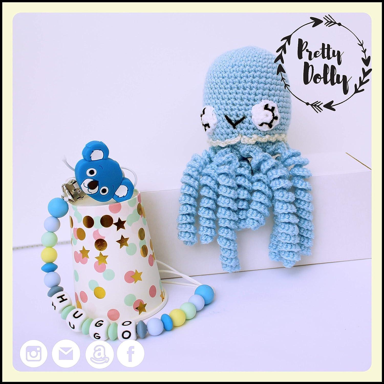 Cesta para bebé | Canastilla para recién nacido con pulpo ...