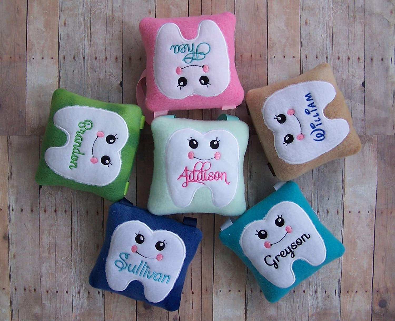 custom handmade personalized kids tooth fairy pillow my kountry kidz
