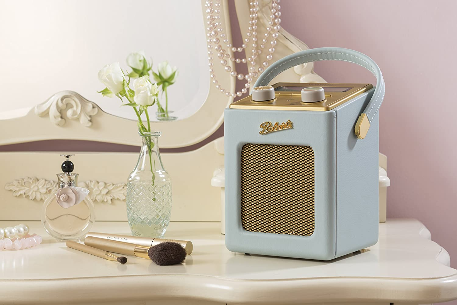 Roberts Radio Mini DAB/DAB+/FM Radio Duck Egg Blue