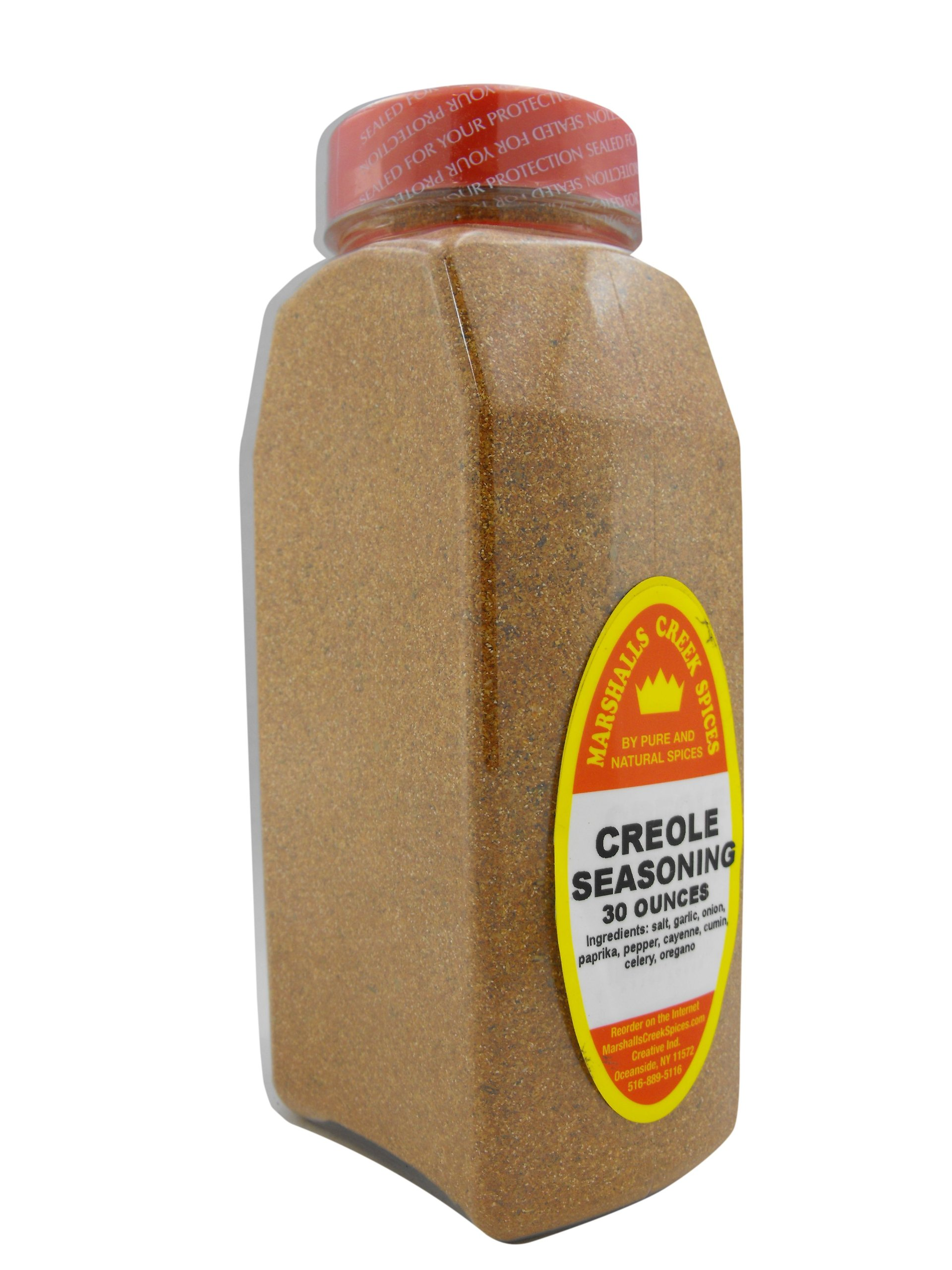 XL Size Marshalls Creek Spices Creole Seasoning, 30 Ounce