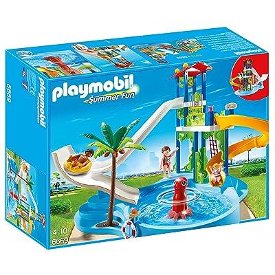 Playmobil 6669 - Parc aquatique avec toboggans géants