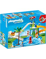 Playmobil Water Park with Slides Playset