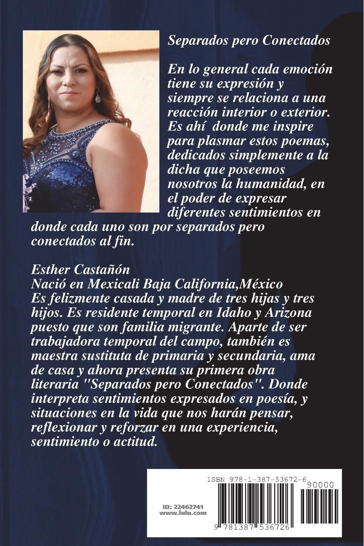 Separados pero Conectados (Spanish Edition): Esther Castañon: 9781387536726: Amazon.com: Books