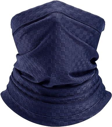 Multifunctional Paisley Headwear Bandana Scarf Headband Anti Dust UV Face Cover Face Covering Loop Balaclava Face Scarf Strechy Neck Warmer Neck Gaiter Tube Snood Scarf for Motorcycle
