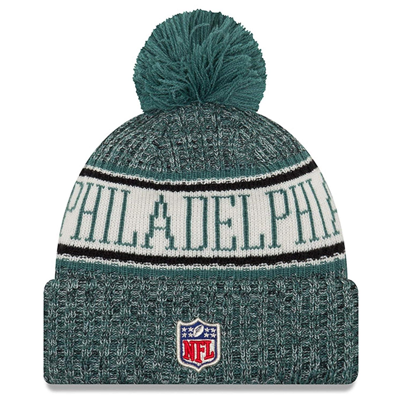 Amazon.com   New Era Youth Philadelphia Eagles Sport Knit NFL Beanie Black 652b97506