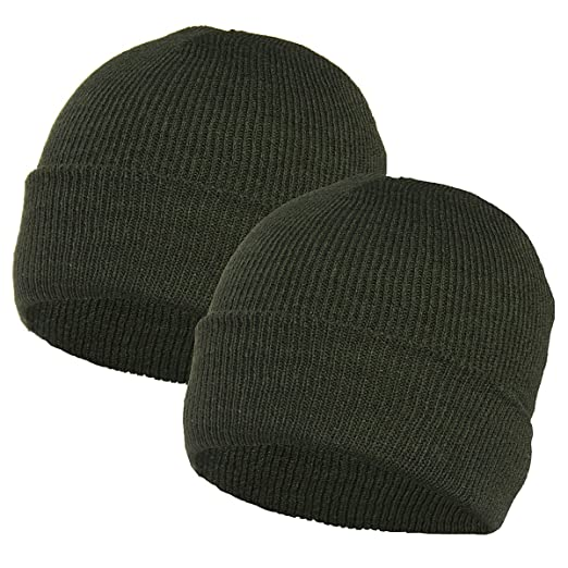 44a6e3864e7 2 pack Igloo Winter Ski Hats Acrylic Knit Beanie Caps Men Women ...