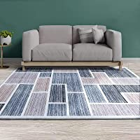 Artiss Short Pile Floor Rug 200x290 Area Rugs Large Modern Carpet Soft Floor Mat Suitable for Living Room Dining Room…