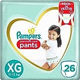 Fralda Pampers Pants Premium Care XG - 26 fraldas