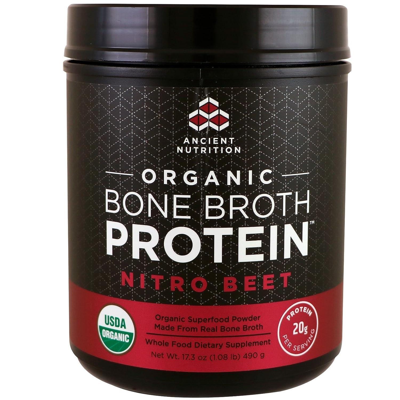 BONE BROTH PROTEIN (ボーンブロスプロテイン)- ビーツ -【オーガニック】 [並行輸入品] B076MRQP1W