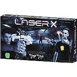 Laser X Tag Set — 2 Laser Blasters, 2 Receiver Vests