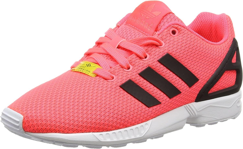 Amazon.com | adidas - ZX Flux K - AF6262 - Color: Pink ...