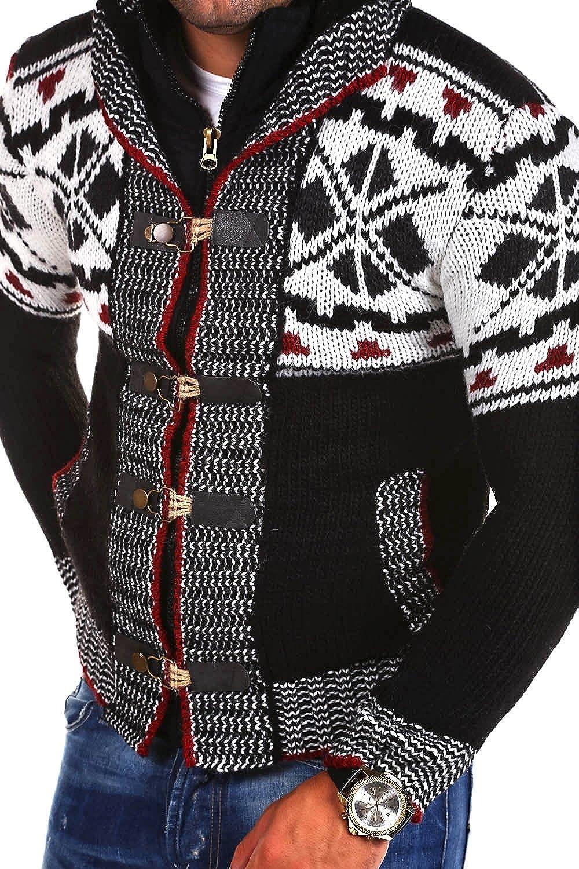 Tazzio Norwegian knitted Sweater Men 14-417