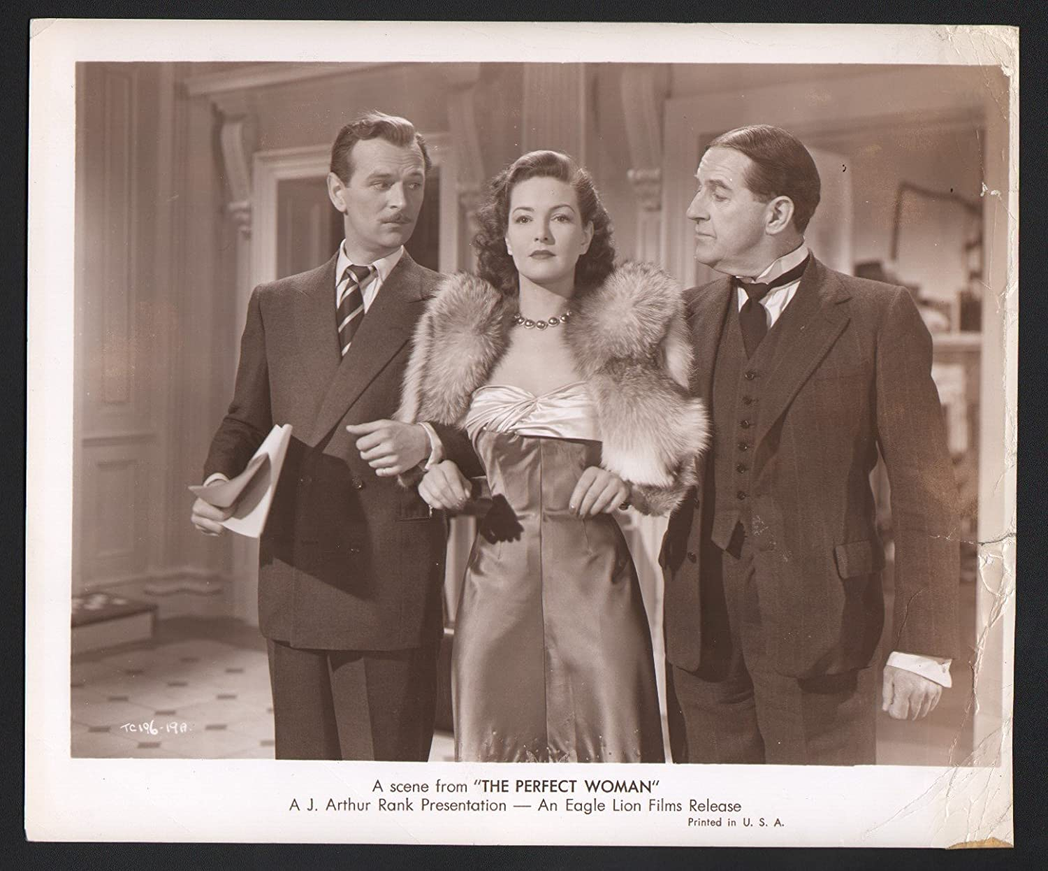 Movie Photo Perfect Woman Patricia Roc Stanley Holloway And