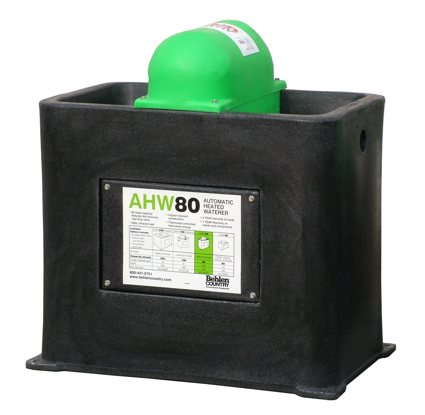 Behlen Country AHW80 Insulated Cattle/Horse Waterer with Heat by Behlen Country (Image #1)