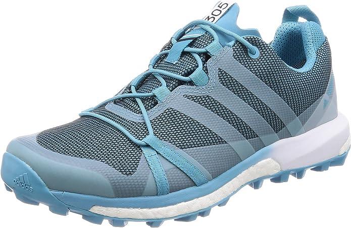 adidas Damen Terrex Agravic GTX W Trekking- & Wanderhalbschuhe, blau