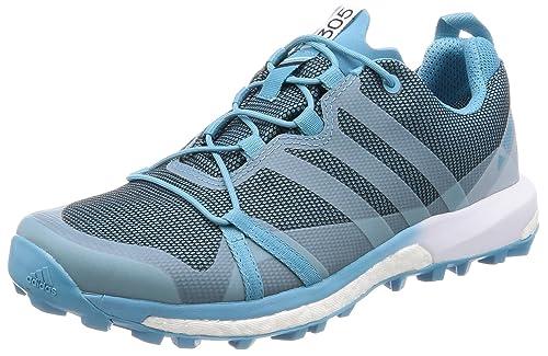 adidas Damen Terrex Agravic GTX W Trekking- & Wanderhalbschuhe, blau, 50.7  EU