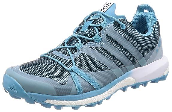 adidas Damen Terrex Agravic GTX W Trekking-& Wanderhalbschuhe, Verschiedene Farben (Azuvap/Agucla/Ftwbla), 40 EU