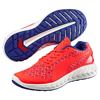 Puma Ignite Ultimate Layered Wn's, Chaussures de Running Compétition Femme, Rouge (Red Blast-Royal Blue White 01), 37 EU