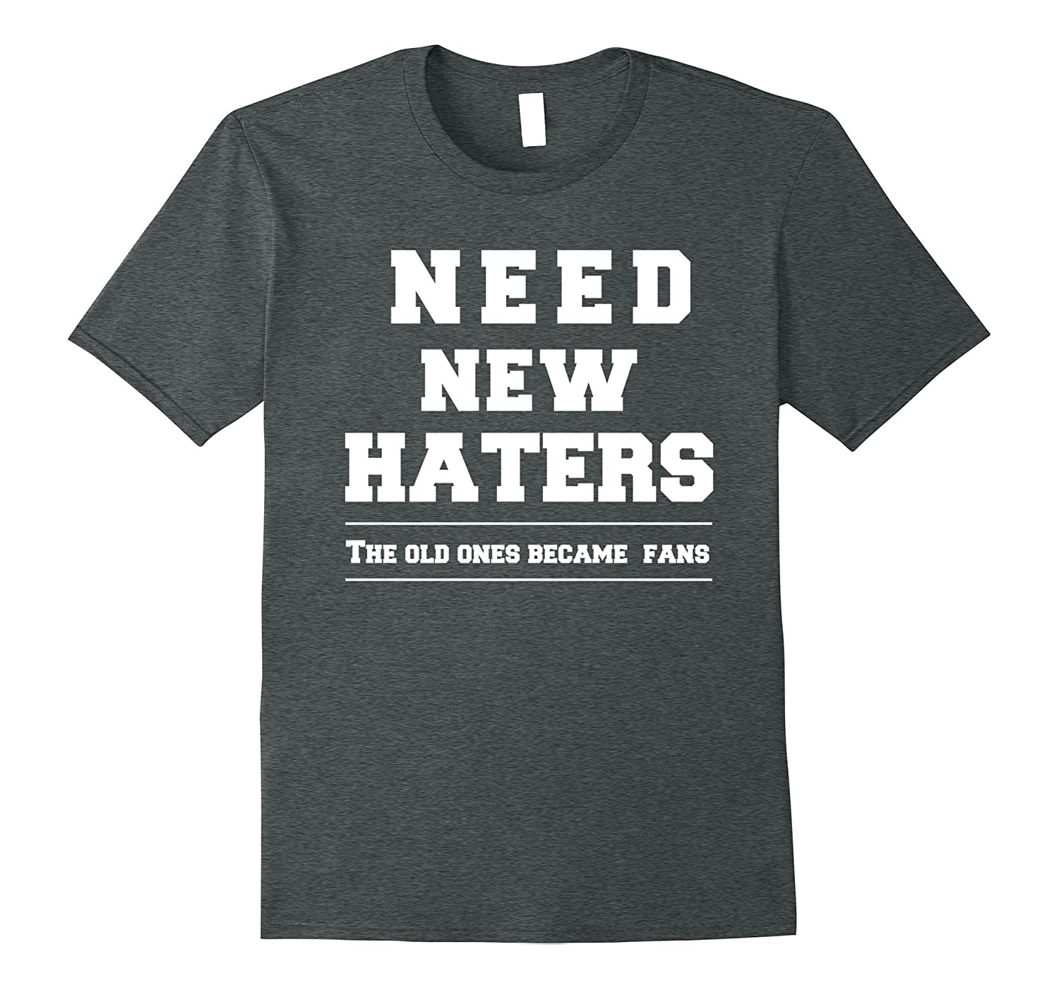 Authentic Haters T-Shirt - Love Your Haters-Vaci