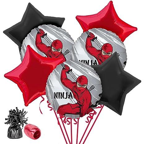 Amazon.com: Costume SuperCenter Ninja Warrior Balloon ...