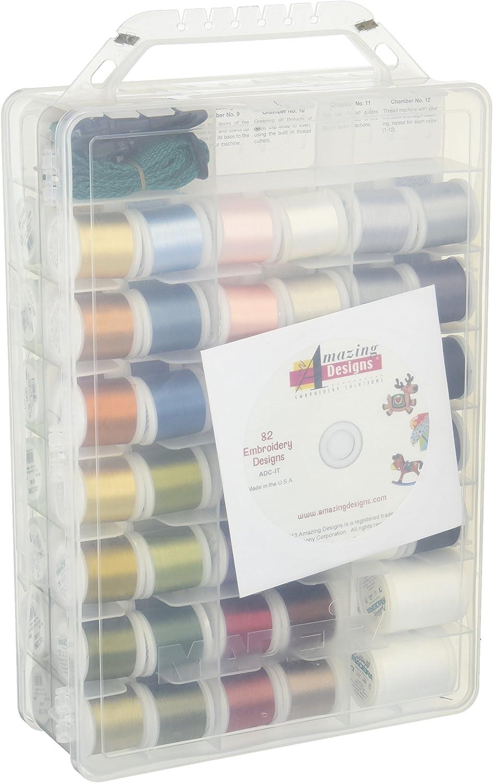 Madeira INCREDIBLE THREADABLE Polyneon Machine Embroidery Thread Box 82 spools