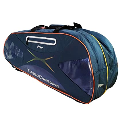 7f036f3f037 Buy Li-Ning ABDC004 9 IN 1 Badminton Kit bag (Blue) Online at Low ...