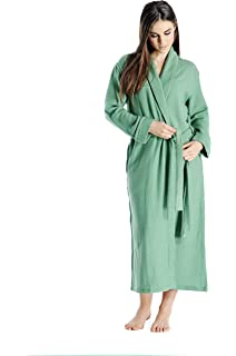 0fa26a819c Parisbonbon Women s 100% Cashmere Shawl Collar Bathrobes at Amazon ...
