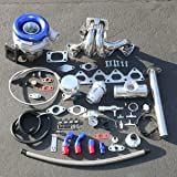 For Honda Prelude H22 High Performance 9pcs T04E Turbo Upgrade Installation Kit