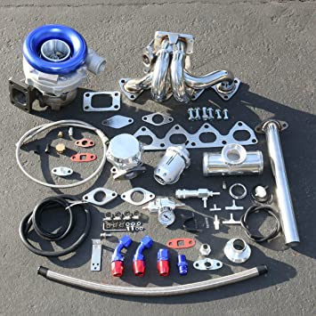 Honda Prelude H22 alto rendimiento 9pcs t04e Turbo Upgrade Kit de instalación