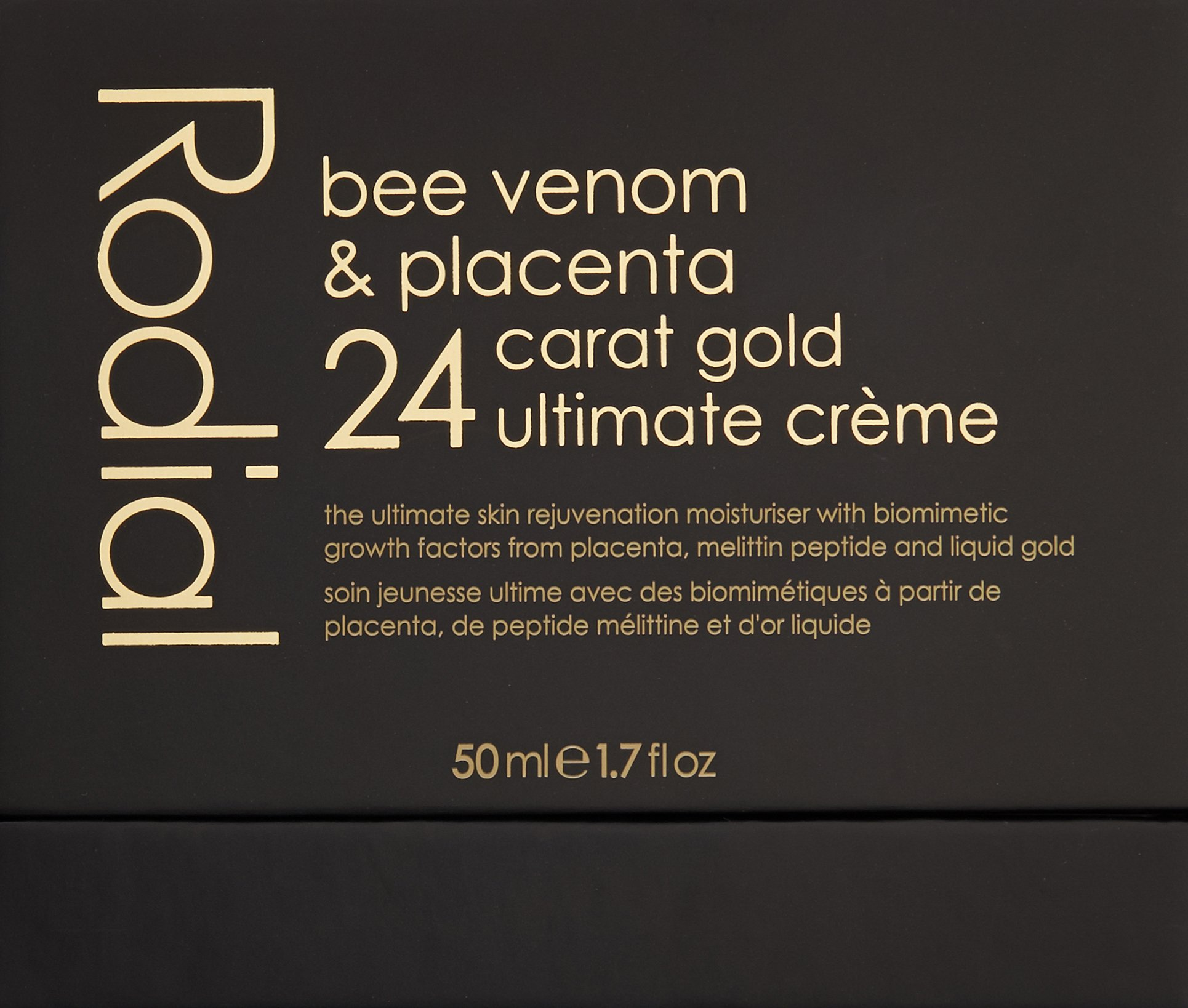 Rodial Bee Venom And Placenta 24 Carat Gold Ultimate Crème, 1.7 Fl Oz