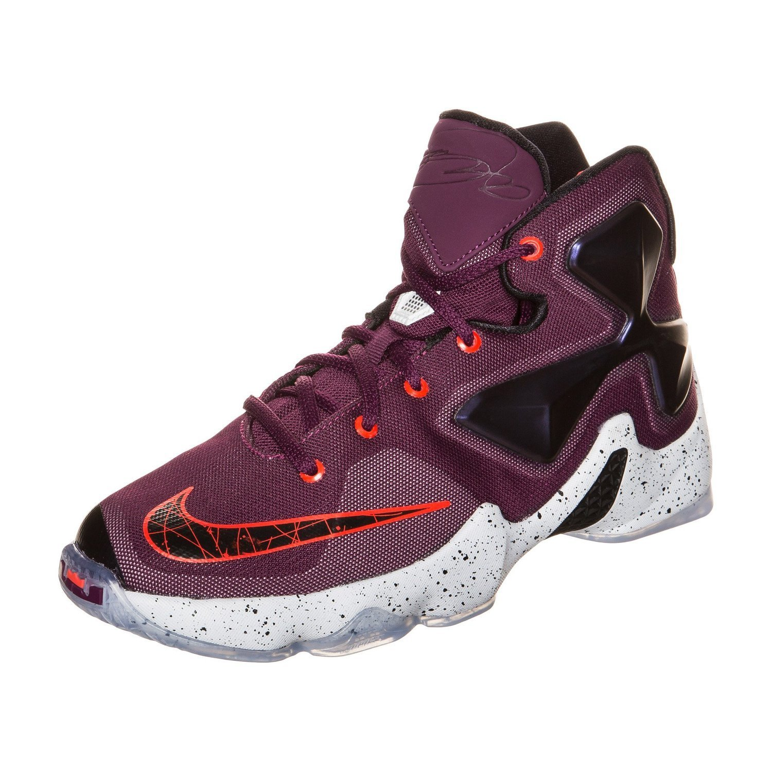 official photos ecf91 08ab8 Nike Youth Lebron XIII Basketball Shoes-Mulberry Blk Vivid Purple-5   Amazon.ca  Shoes   Handbags